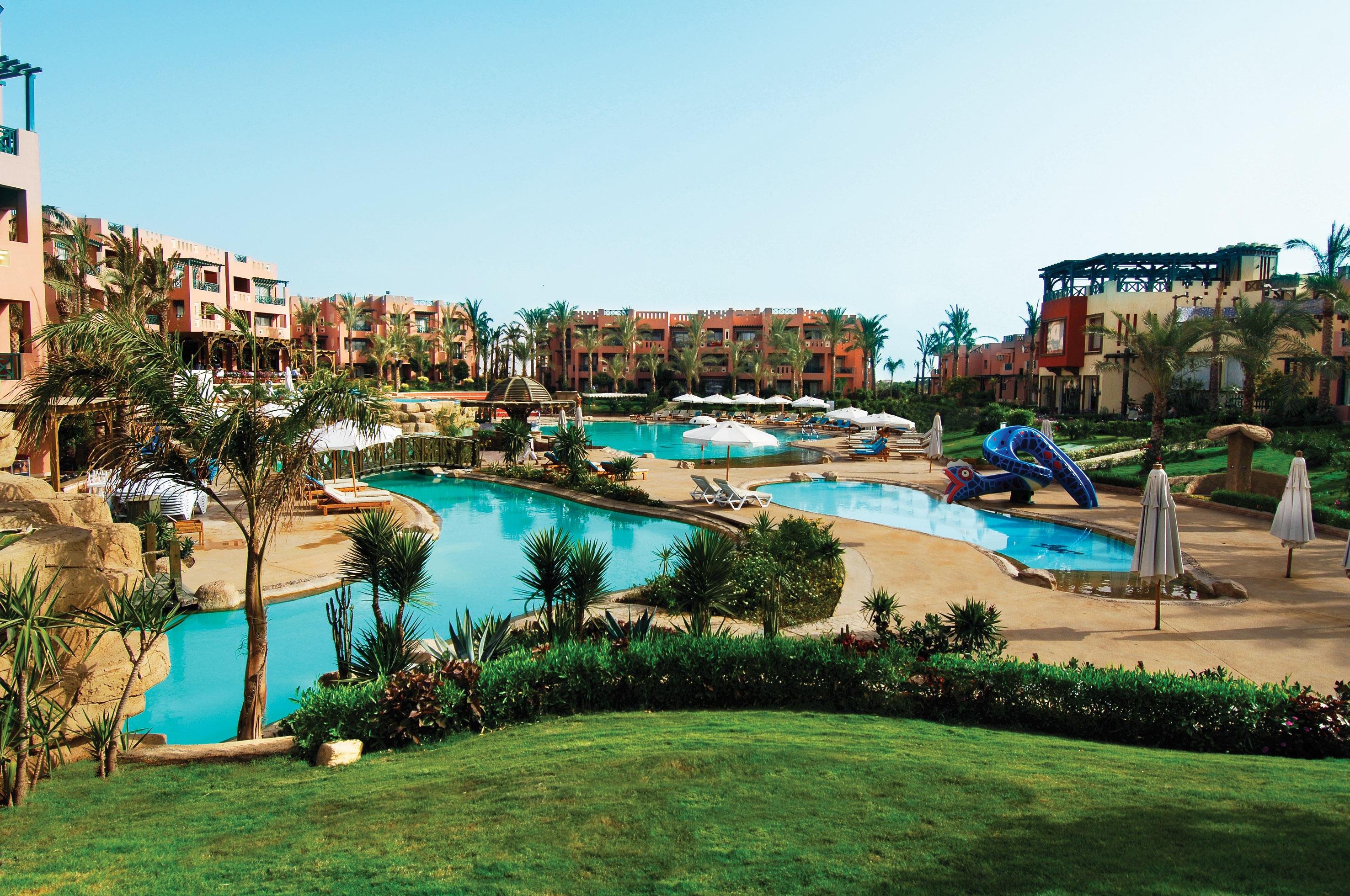 Egypt Resort Sharm El Sheikh Rehana Sharm Resort Pool Day